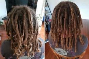 Houston Dreadlocks maintenance before after